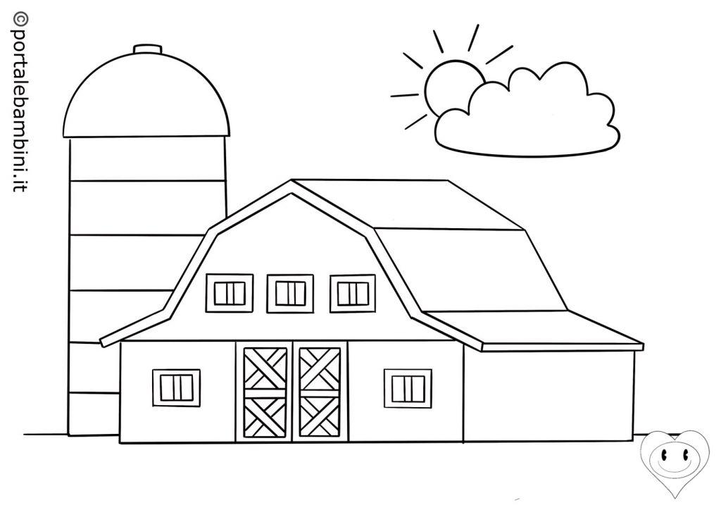 fattoria da colorare 1