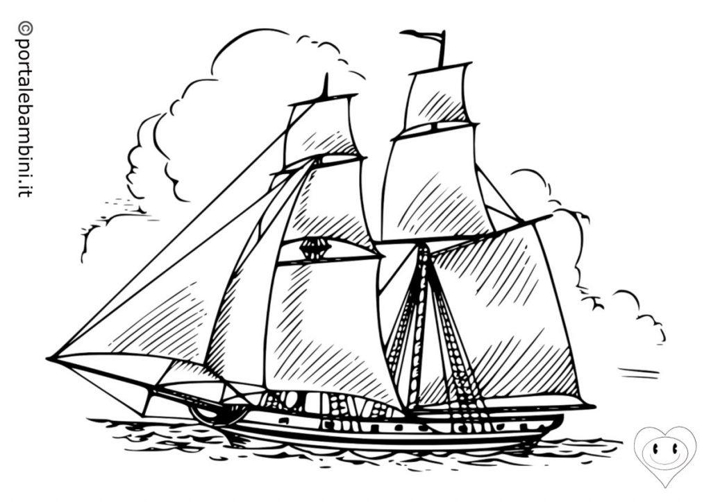 navi da colorare 5