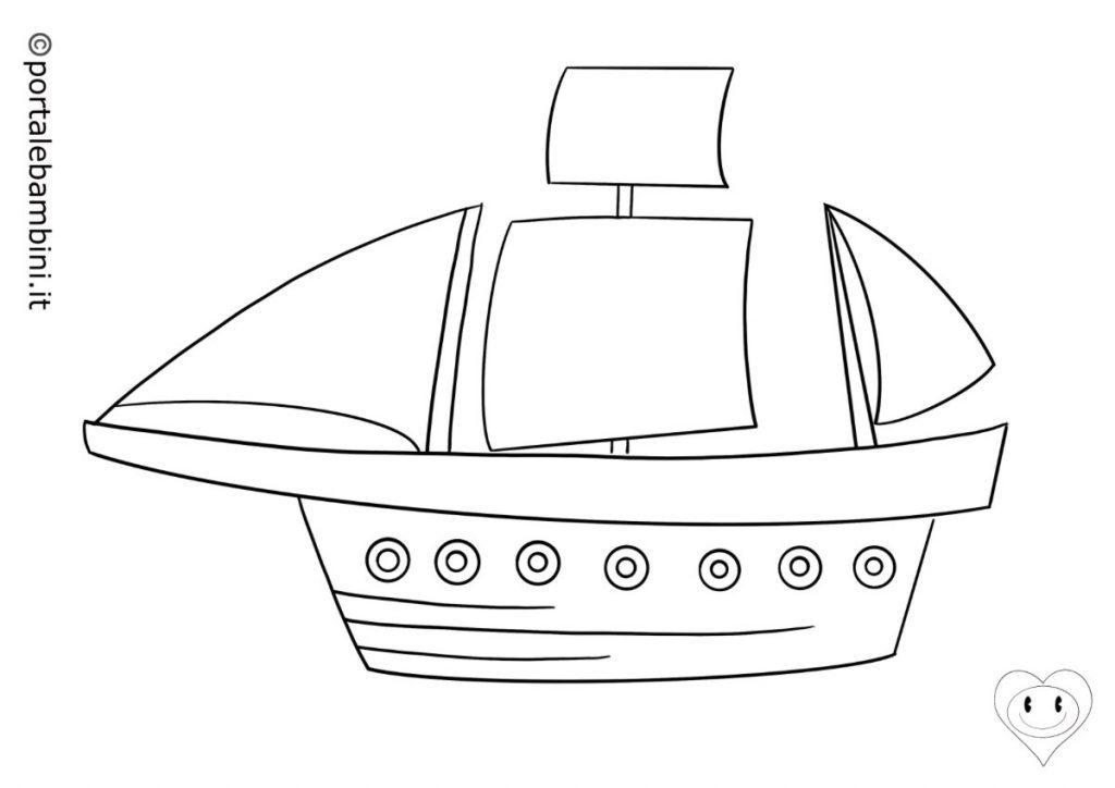 navi da colorare 2