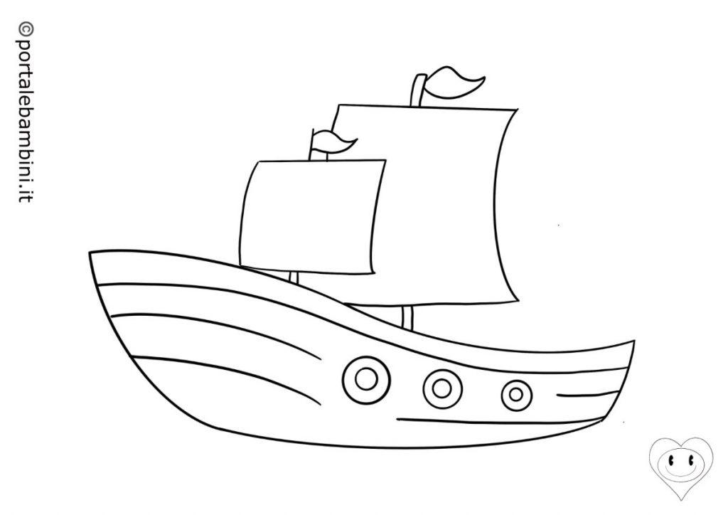 navi da colorare 4