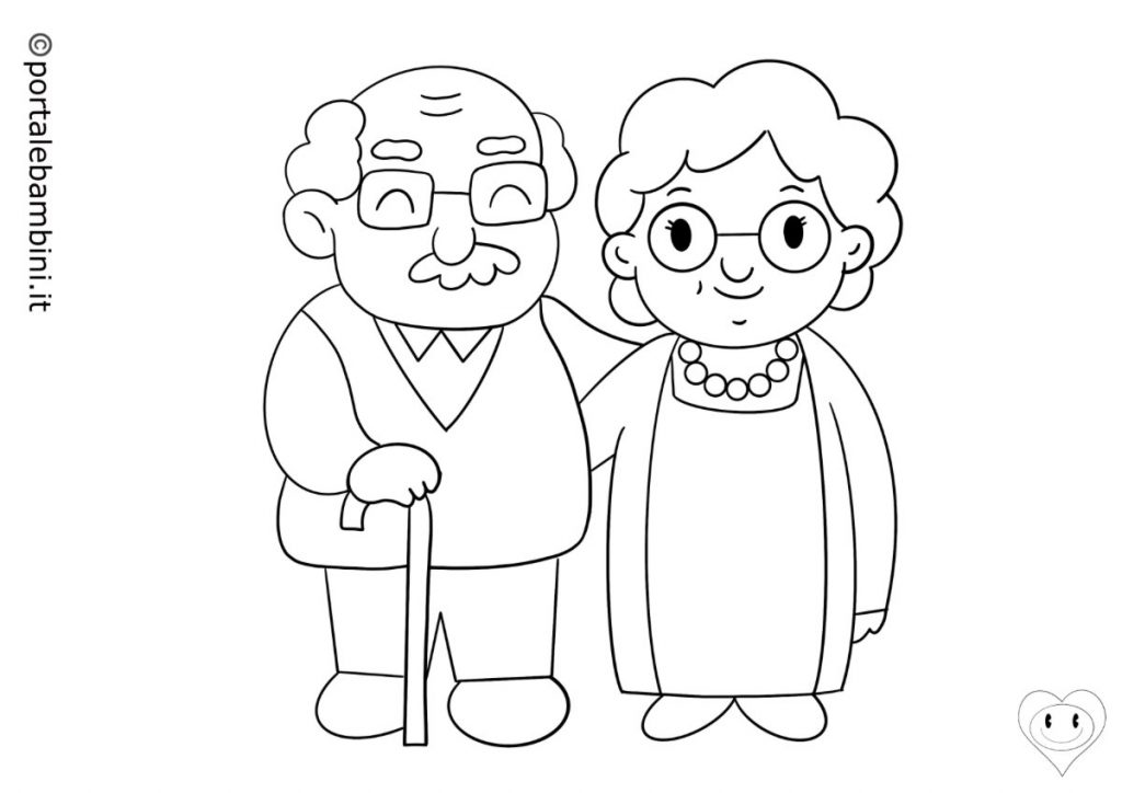 nonni da colorare 3