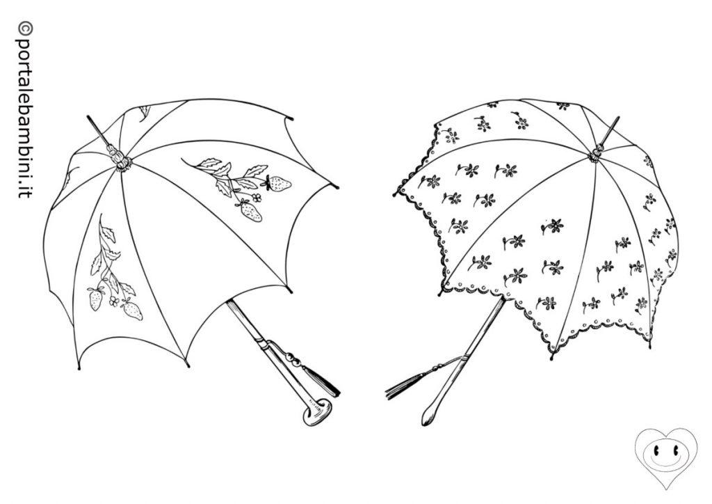 ombrello da colorare 2