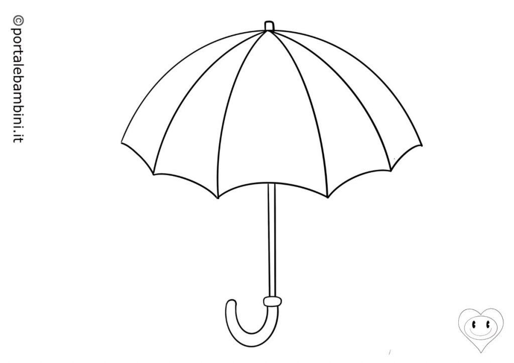 ombrello da colorare 1