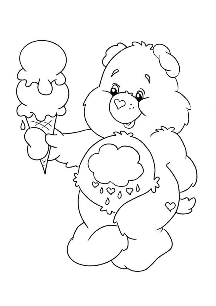 orsetti del cuore da colorare 3