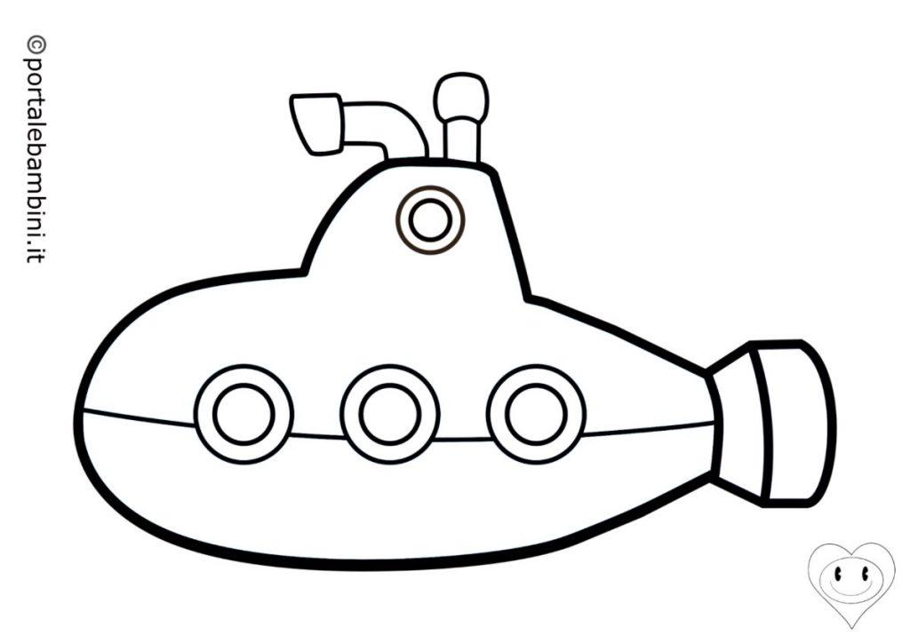 sottomarini da colorare 1