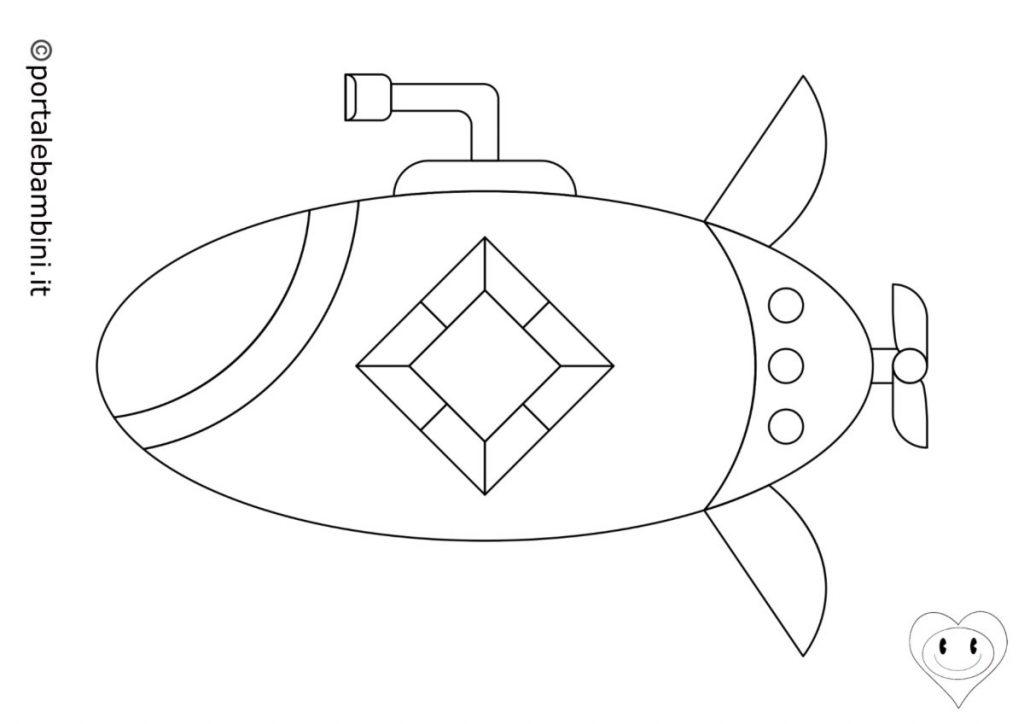 sottomarini da colorare 3