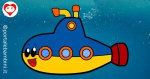 sottomarini da colorare