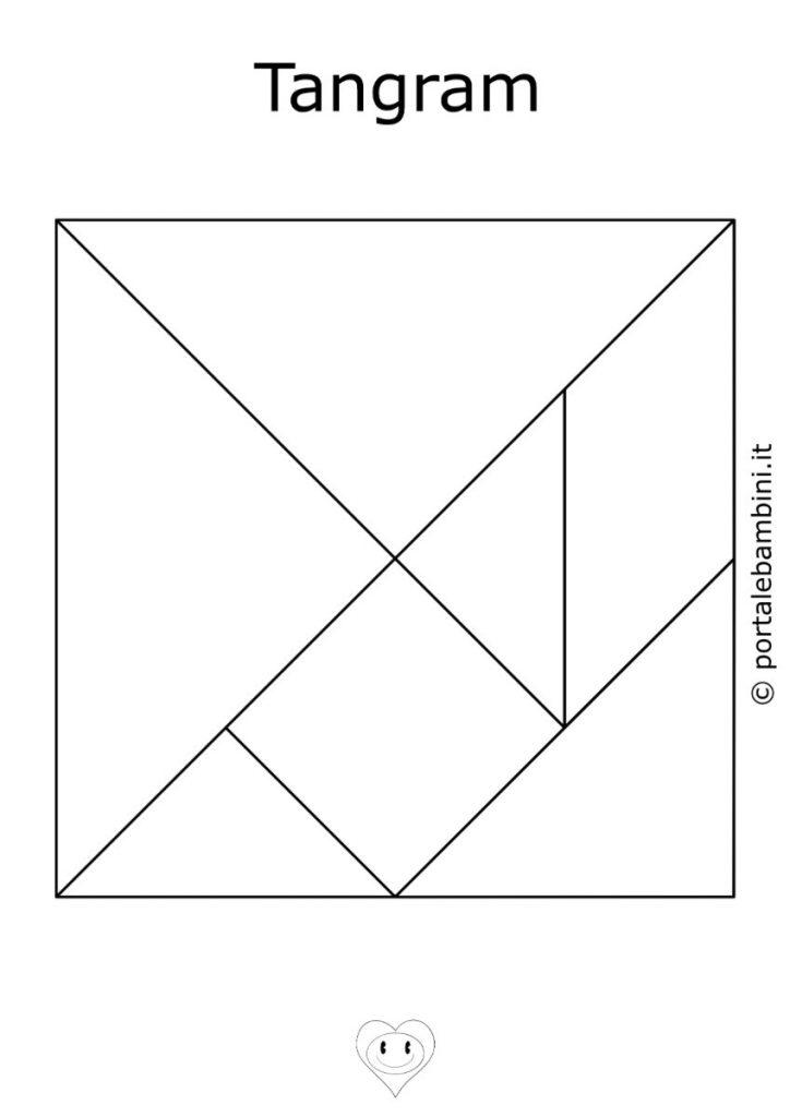 tangram da stampare