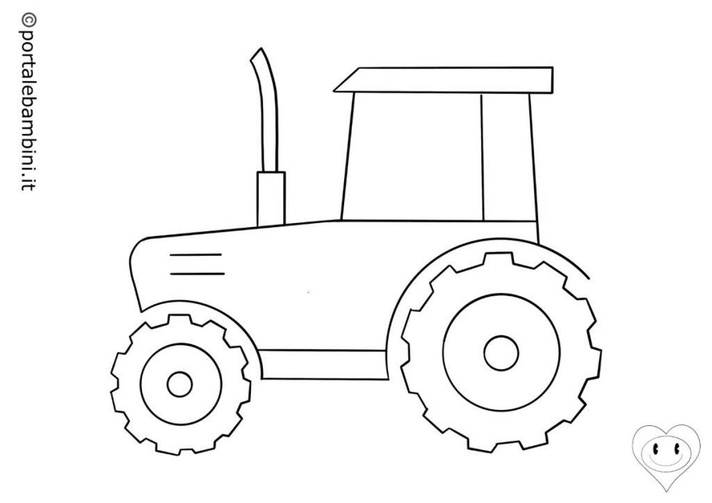 trattori da colorare 4