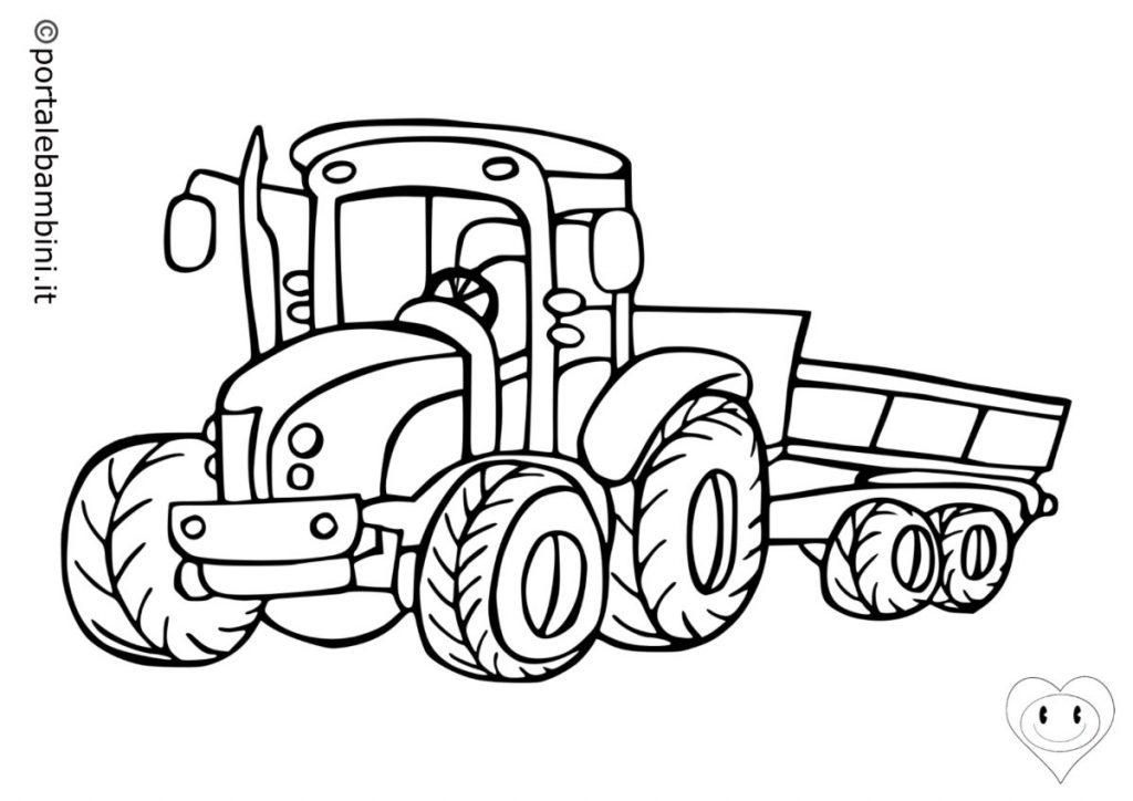 trattori da colorare 3