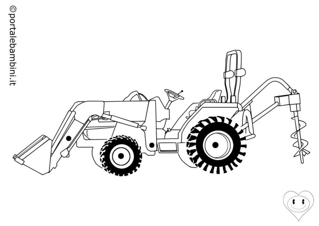 trattori da colorare 5