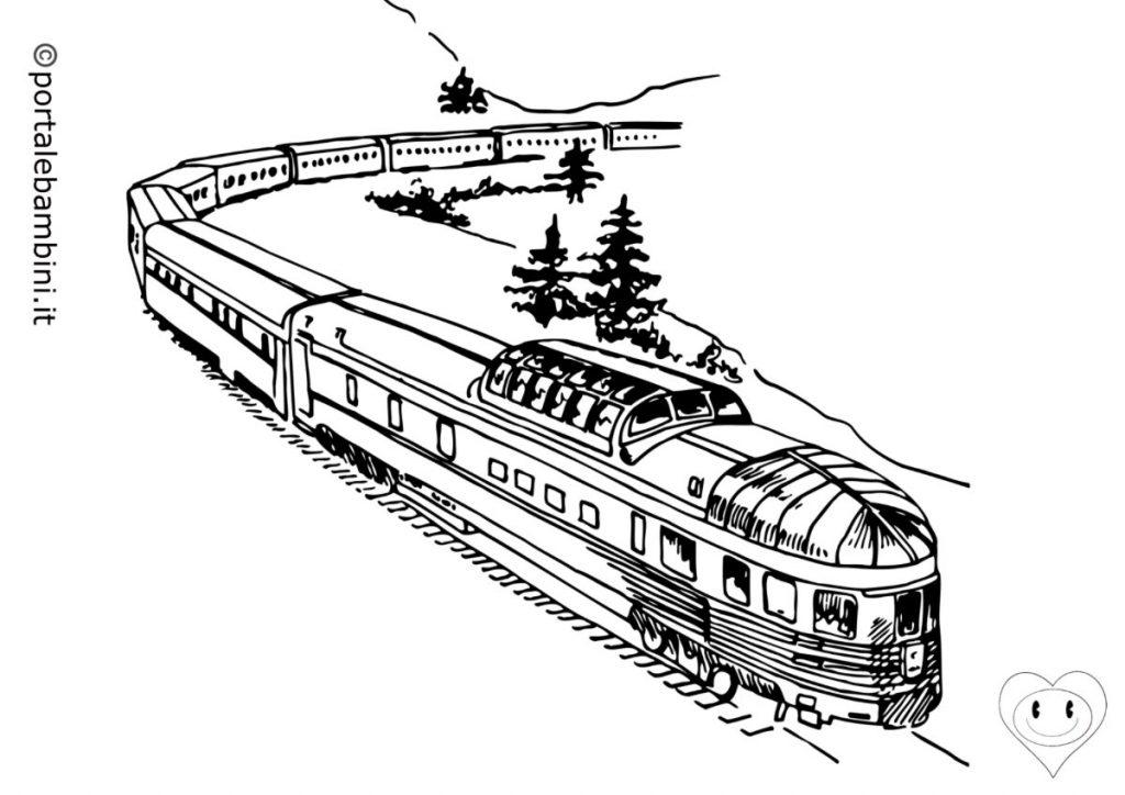 treni da colorare 4