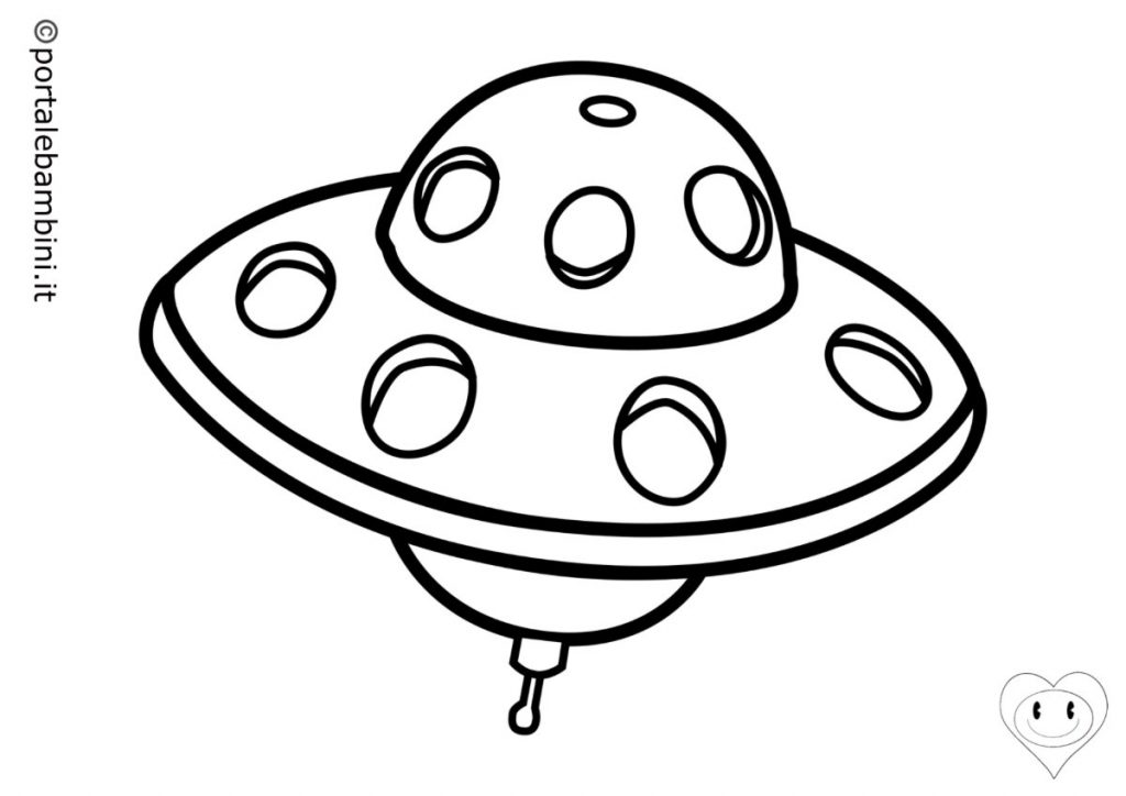 ufo da colorare 2
