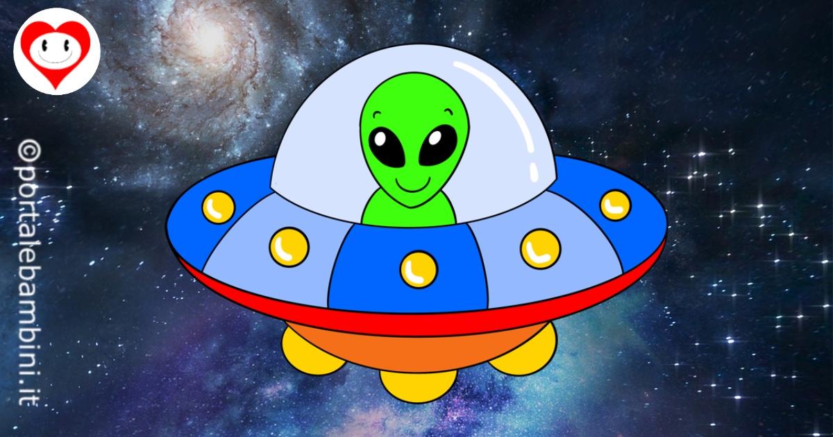 ufo da colorare