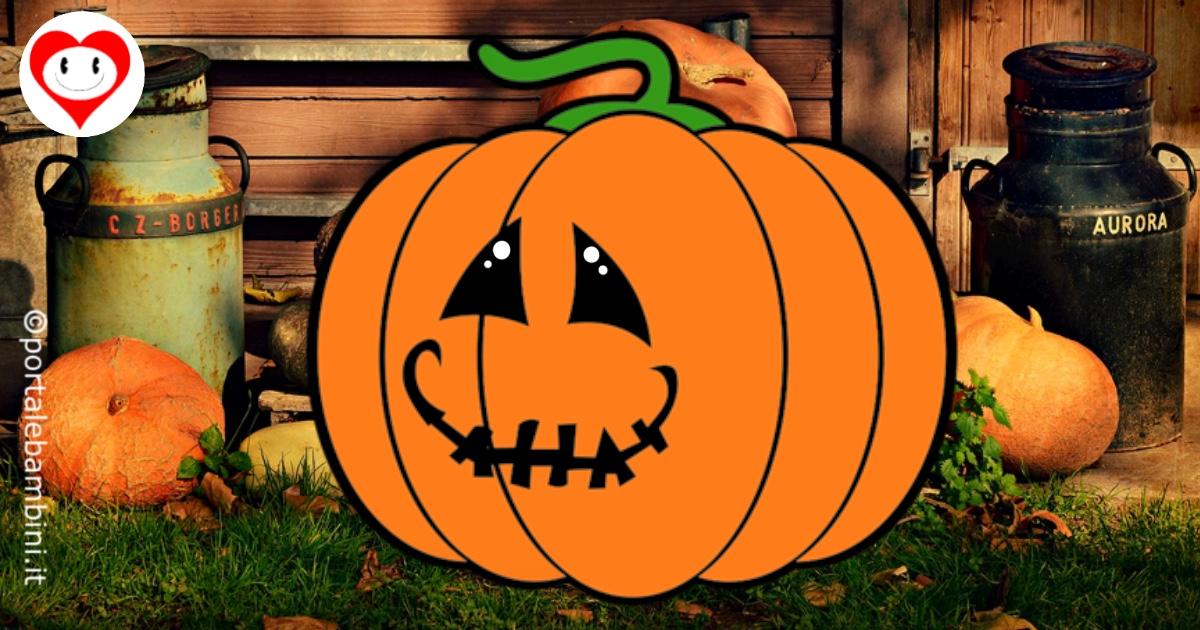zucca di halloween da colorare