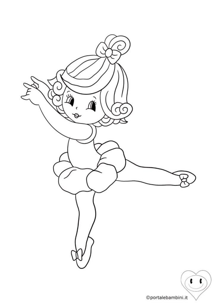 ballerine da colorare 1
