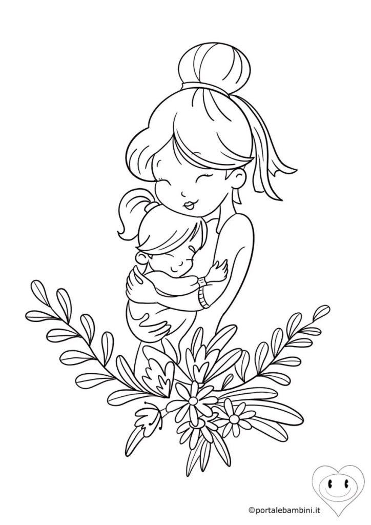 disegni per la festa della mamma da colorare 5