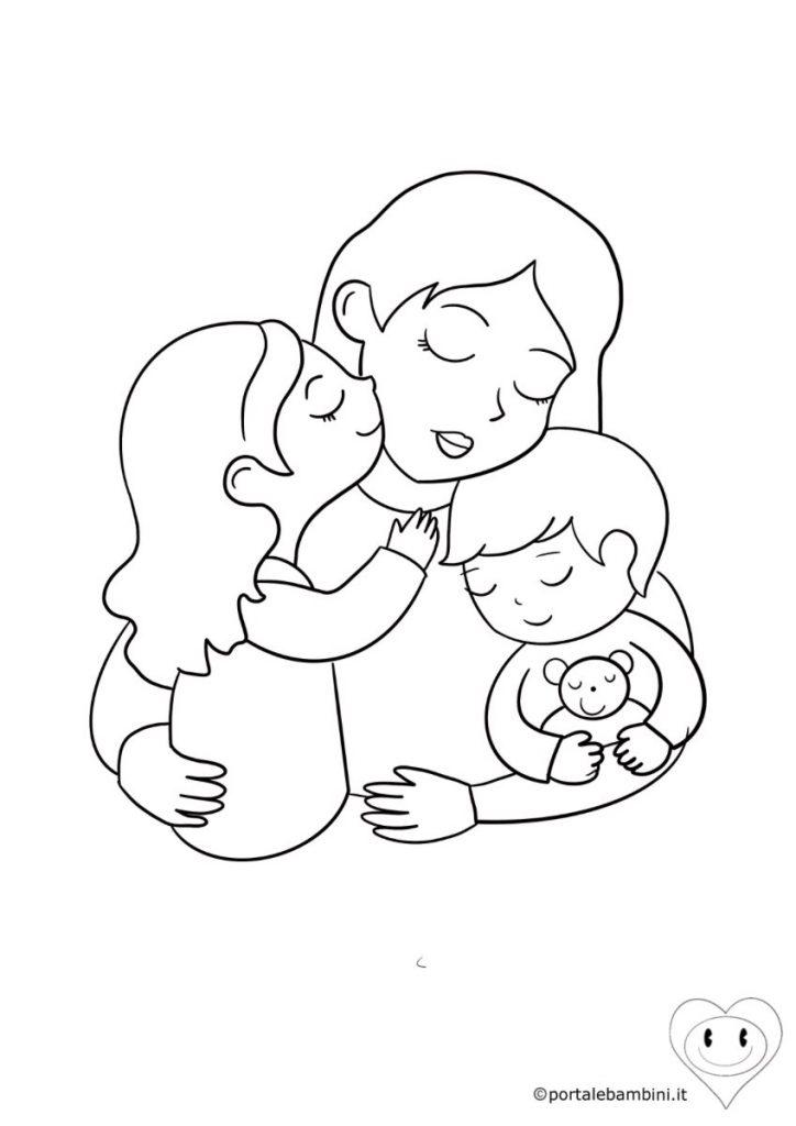 disegni per la festa della mamma da colorare 3