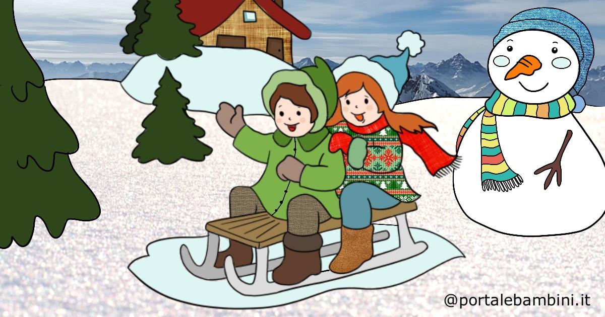 disegni inverno