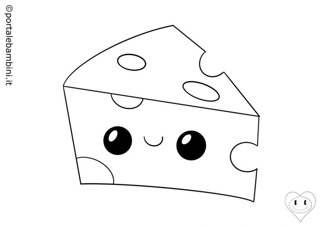 formaggio da colorare 2