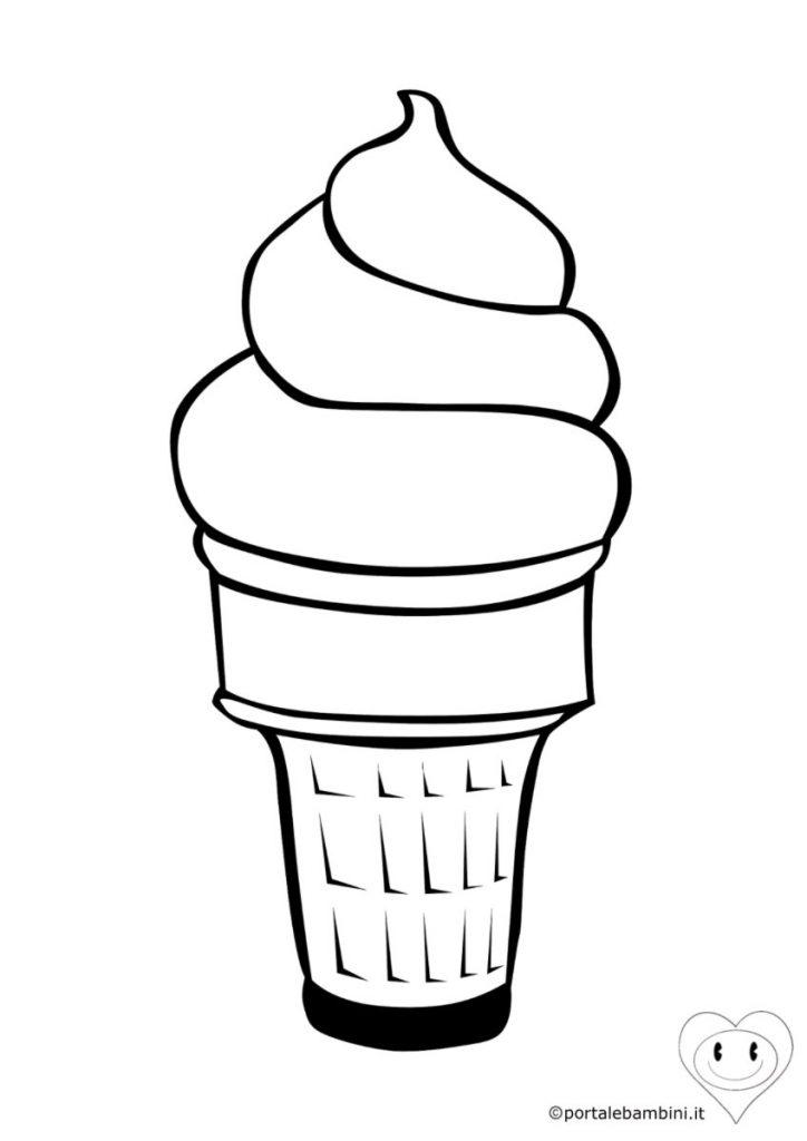 gelato da colorare 1