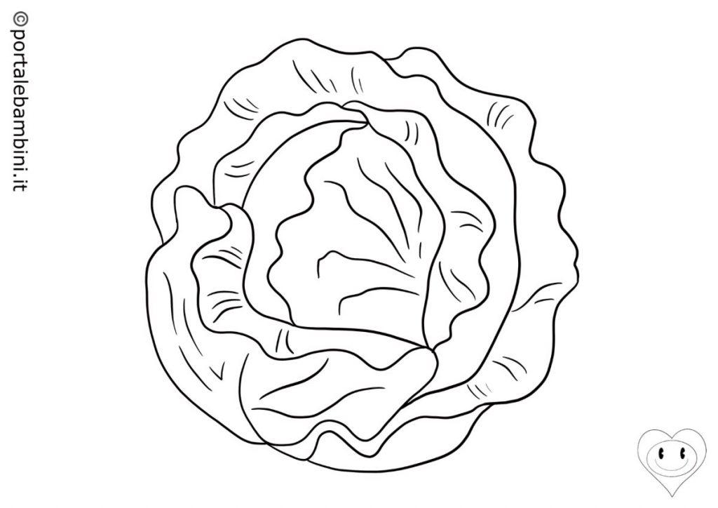 insalata da colorare 3