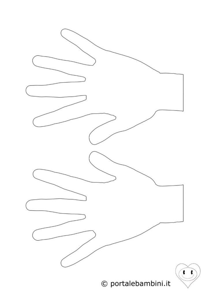 mani da colorare 1
