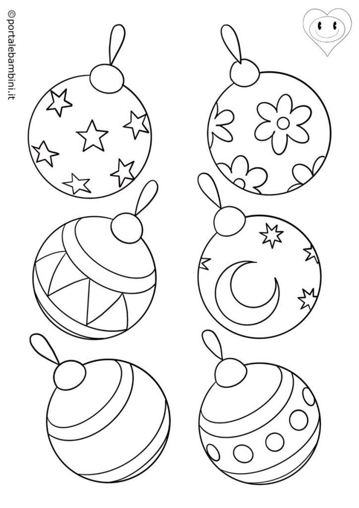 palline di natale da colorare 3