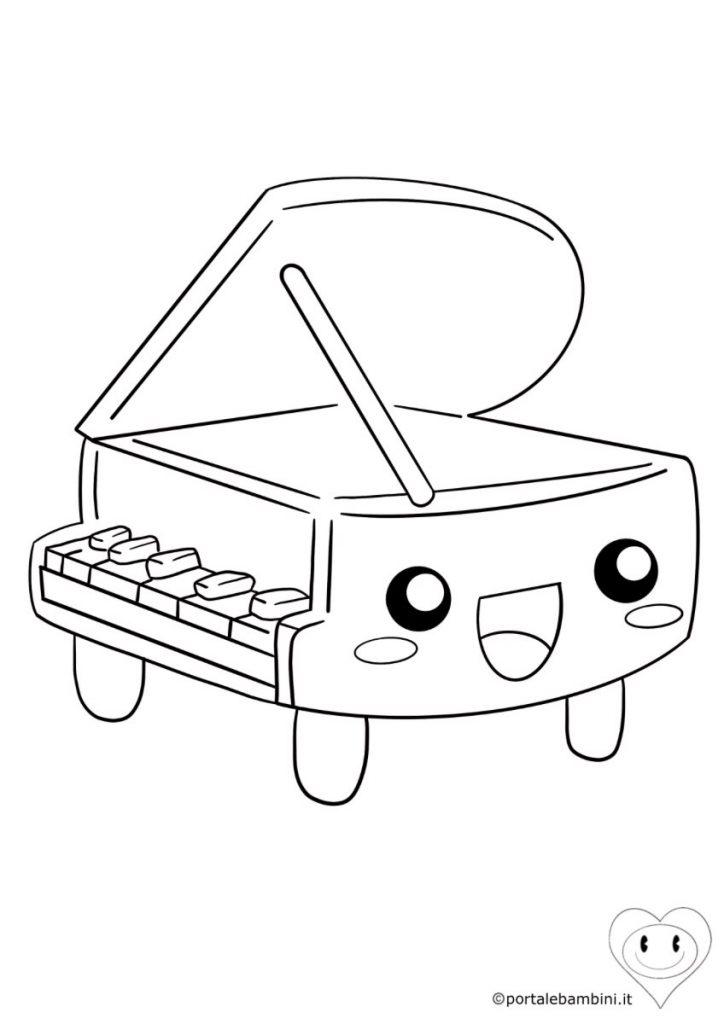 strumenti musicali da colorare 2