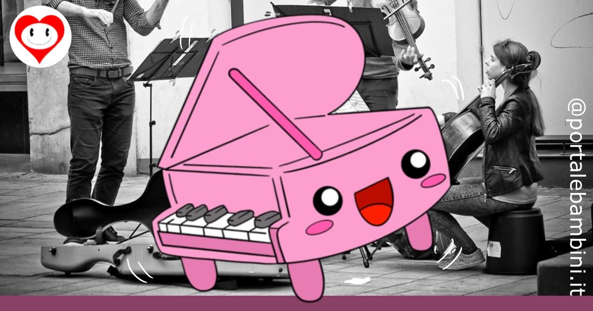 pianoforte da colorare