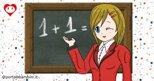 schede didattiche di matematica per la classe prima