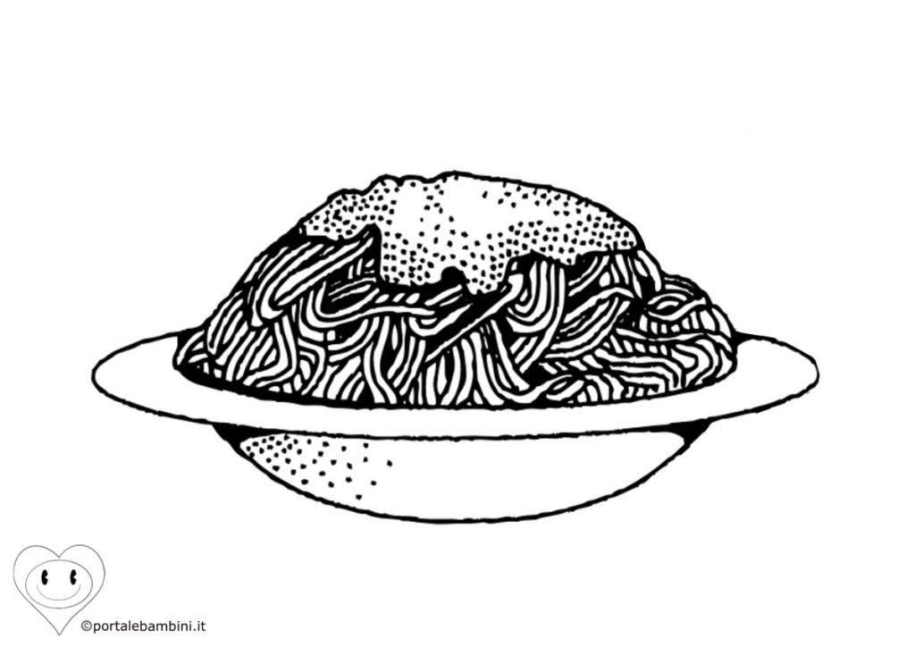 spaghetti da colorare 2