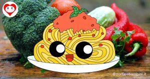 spaghetti da colorare