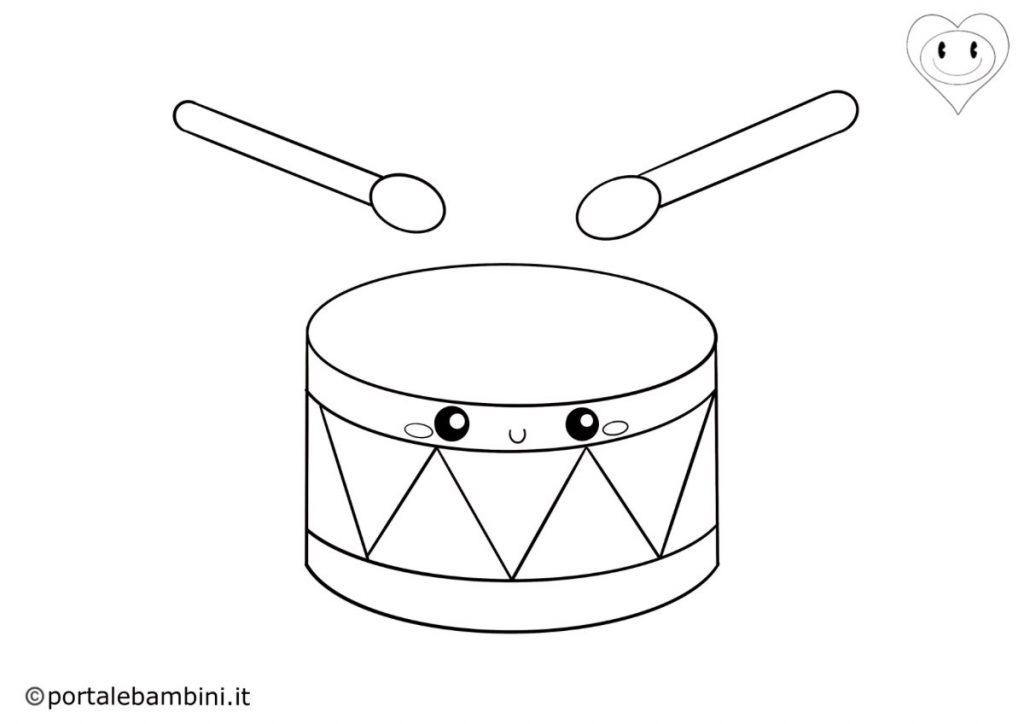 tamburo da colorare 2