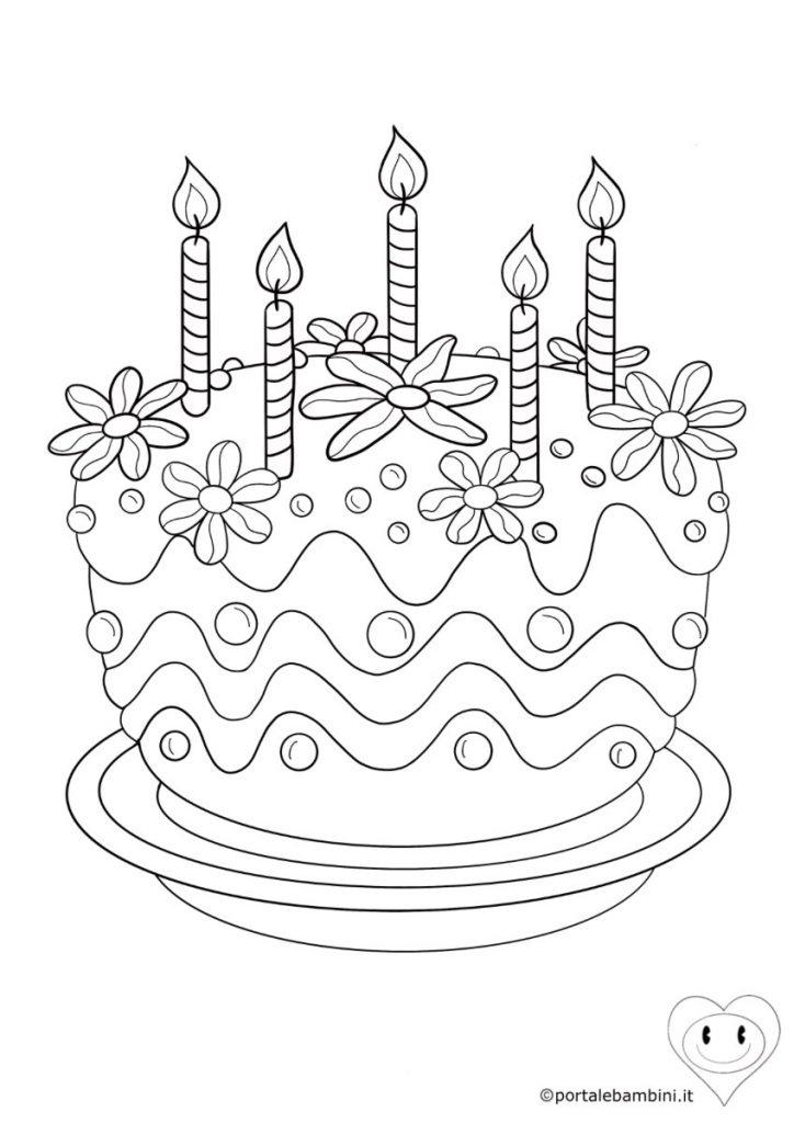 torta da colorare 4