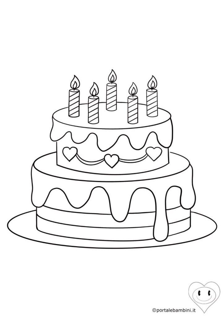 torta da colorare 2