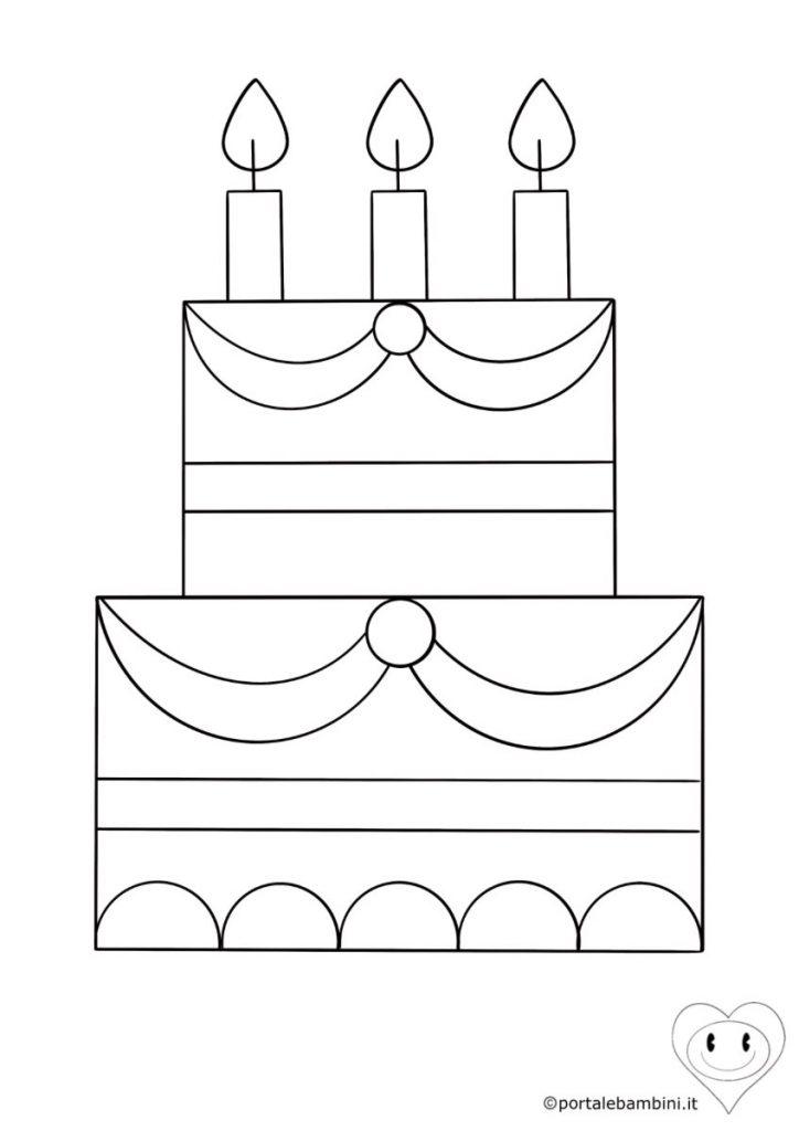 torta da colorare 3