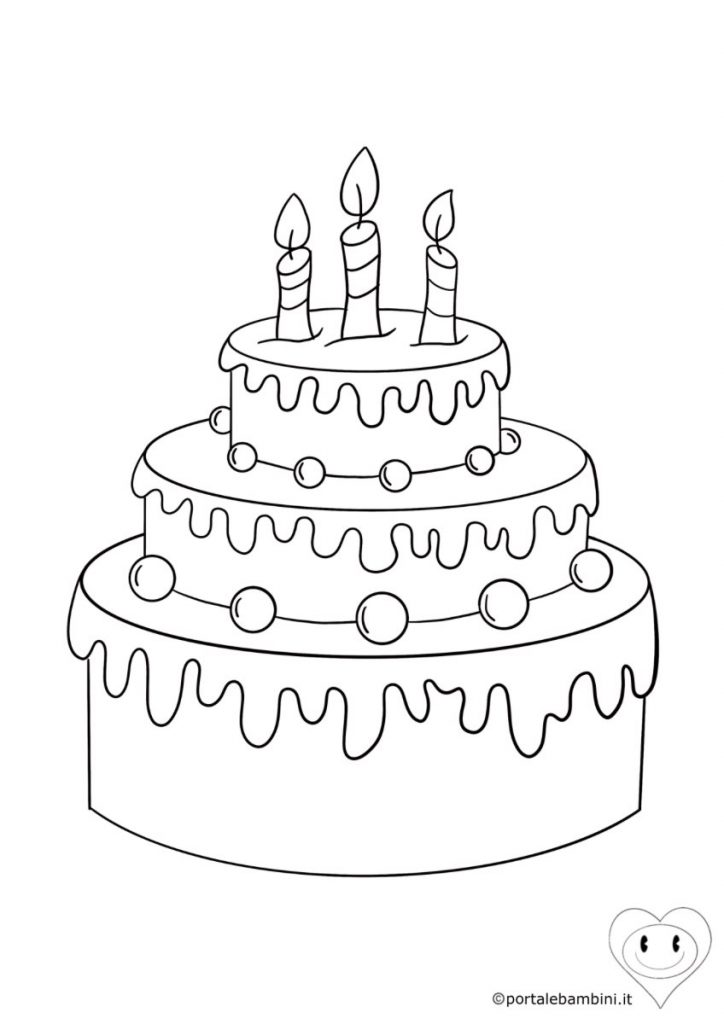 torta da colorare 1