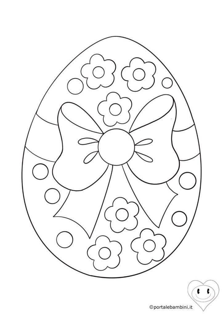 uova di pasqua da colorare 6