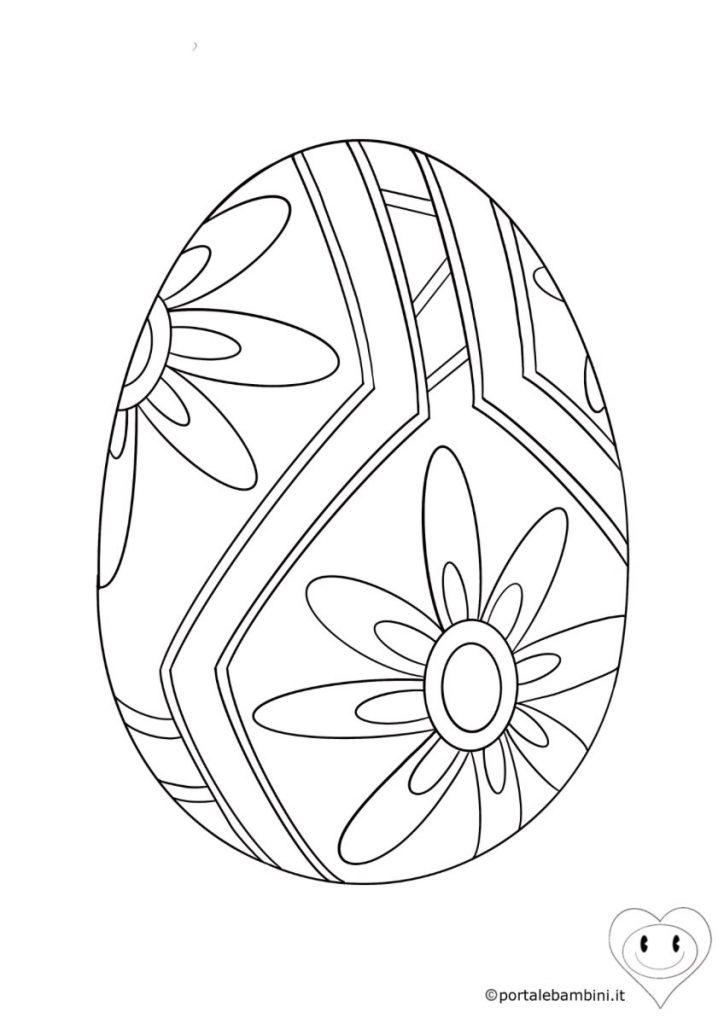 uova di pasqua da colorare 2