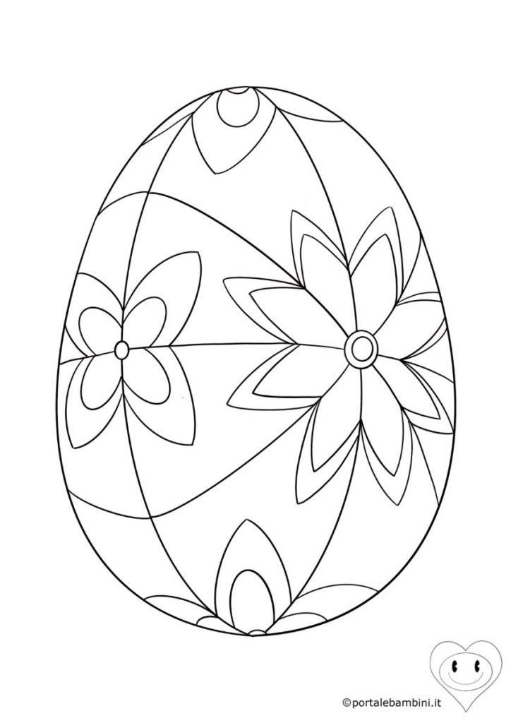 uova di pasqua da colorare 3