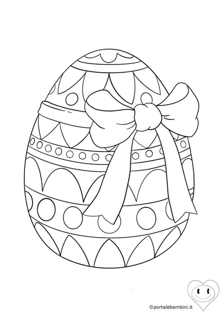 uova di pasqua da colorare 5