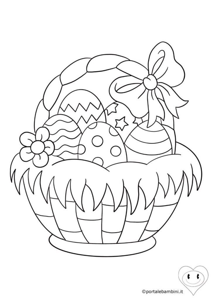 uova di pasqua da colorare 1