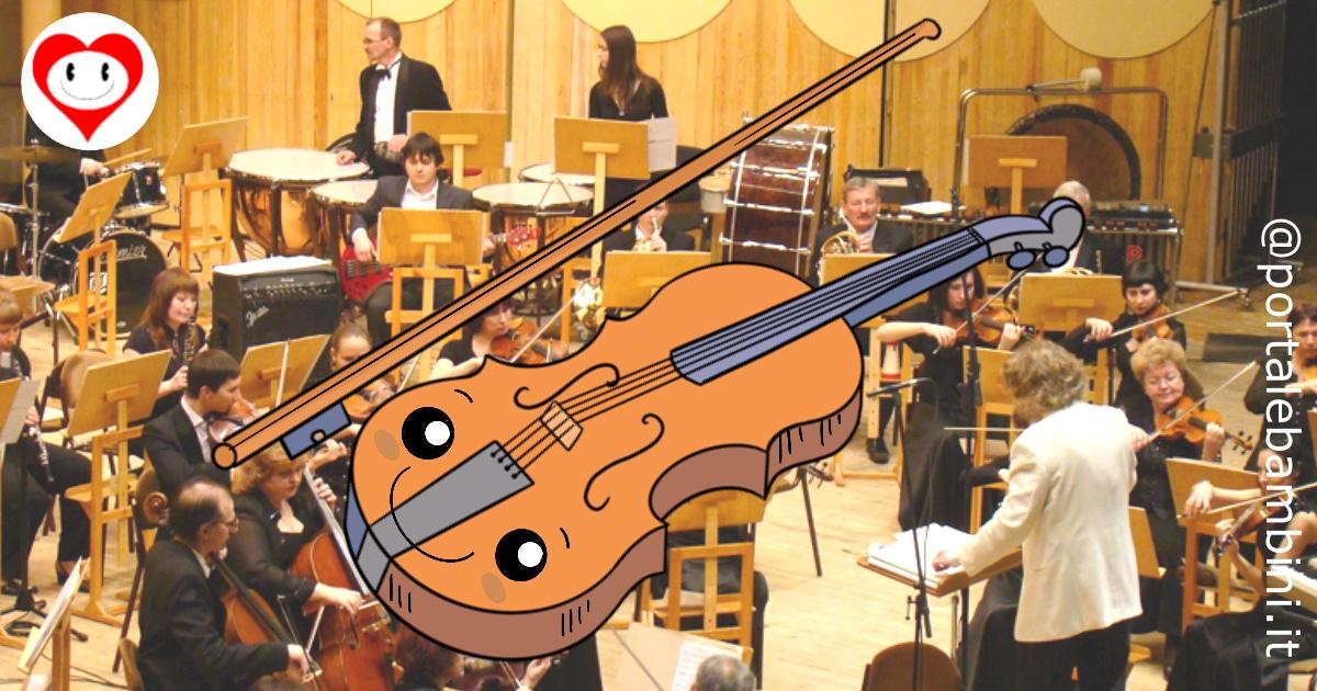 violino da colorare